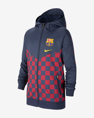 NIKE FC BARCELONA WINDRUNNER YOUTH JACKET 2019/20 1