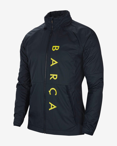 NIKE FC BARCELONA ALL WEATHER LIGHTWEIGHT JACKET 2020 1