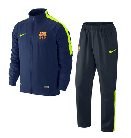 NIKE FC BARCELONA SQUAD SIDELINE WOVEN WARM UP TRACKSUIT 1