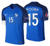NIKE PAUL POGBA FRANCE VAPOR MATCH AUTHENTIC HOME JERSEY EURO 2016 PATCH 1