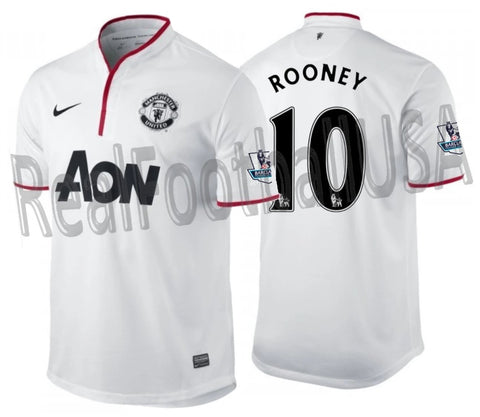 NIKE WAYNE ROONEY MANCHESTER UNITED AWAY JERSEY 2012/13 1