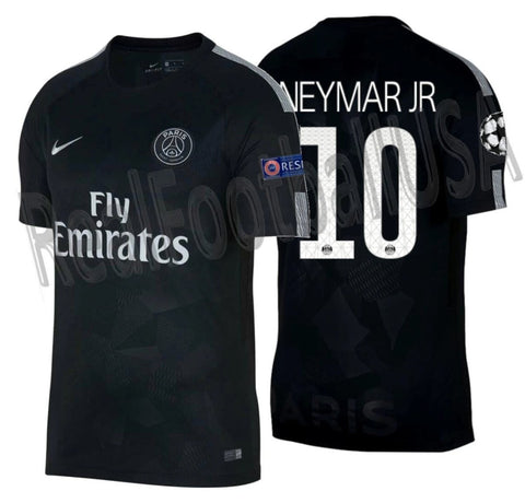 NIKE NEYMAR JR. PARIS SAINT-GERMAIN PSG UEFA CHAMPIONS LEAGUE THIRD JERSEY 2017/18 1