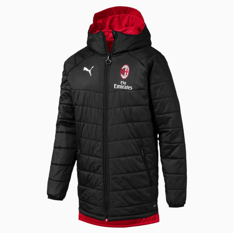 PUMA AC MILAN REVERSIBLE PADDED BENCH JACKET 1