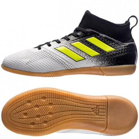 ADIDAS ACE TANGO 17.3 IN KID'S YOUTH INDOOR SOCCER SHOES Running White 1