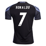 ADIDAS CRISTIANO RONALDO REAL MADRID THIRD JERSEY 2016/17 CWC FIFA PATCH.