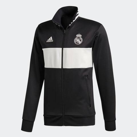 ADIDAS REAL MADRID 3 STRIPES TRACK JACKET 2018/19 CW8698