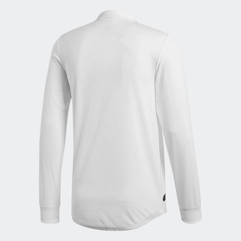 sports shoes ea359 43083 ADIDAS REAL MADRID LONG SLEEVE AUTHENTIC MATCH HOME JERSEY 2018/19.