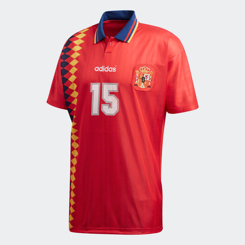 ADIDAS ORIGINALS SPAIN HOME JERSEY FIFA WORLD CUP 1994 CE2340