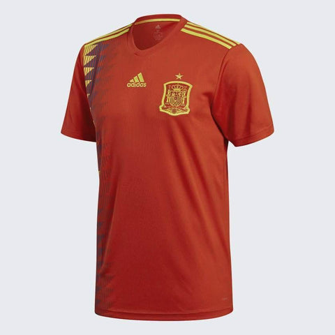 ADIDAS SPAIN HOME JERSEY FIFA WORLD CUP 2018.