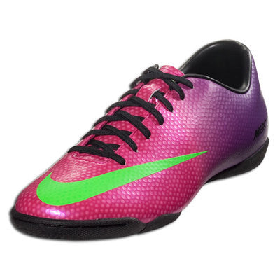 NIKE MERCURIAL VICTORY IV IC INDOOR SOCCER FUTSAL CR7 SHOES FIRE BERRY