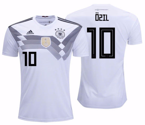 ADIDAS MESUT OZIL GERMANY HOME JERSEY FIFA WORLD CUP 2018.