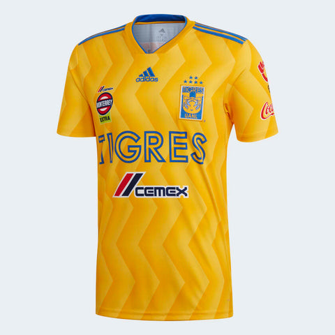 Adidas Tigres UANL Home Jersey 2018/19 CD6007