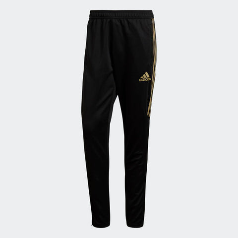 ADIDAS TIRO 17 TRAINING PANTS Black/Metallic Gold.