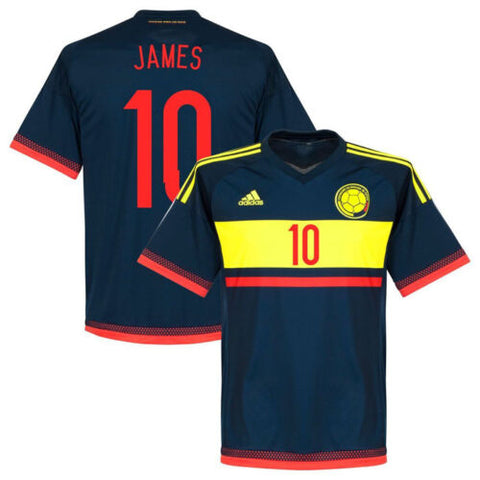 ADIDAS JAMES RODRIGUEZ COLOMBIA AWAY JERSEY 2015/16