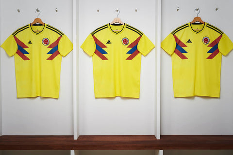 ... Adidas James Rodriguez Colombia Home Jersey 2018 FIFA Patches CW1526 8  ... b45ef33b3