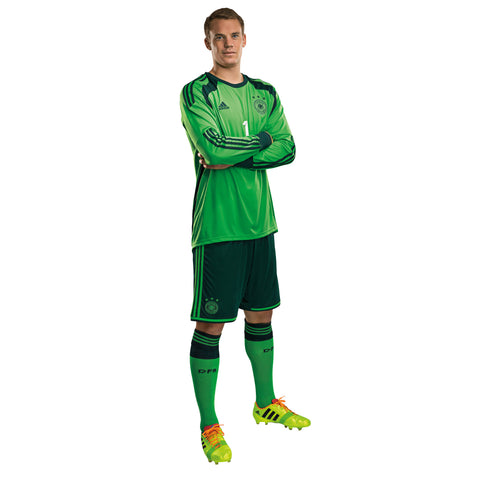 ba10987b2f2 ADIDAS MANUEL NEUER GERMANY GOALKEEPER 4 STAR HOME JERSEY FIFA WORLD CUP  2014 CHAMPIONS.