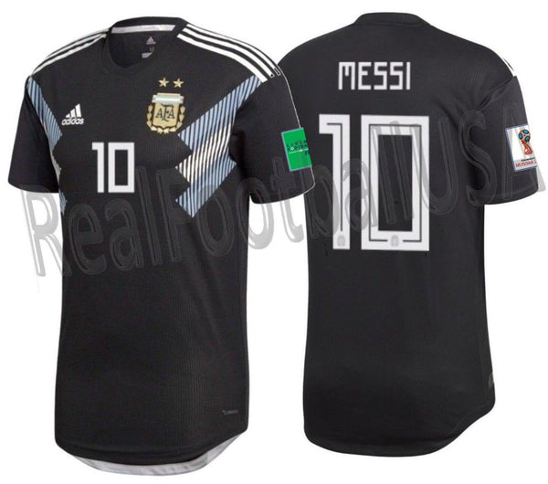 new products 9b5ff c6644 ADIDAS LIONEL MESSI ARGENTINA AUTHENTIC MATCH AWAY JERSEY WORLD CUP 2018  PATCHES