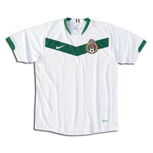 NIKE MEXICO AWAY JERSEY FIFA WORLD CUP 2006.