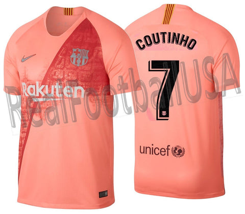 Nike Coutinho Barcelona Third Jersey 2018/19 918989-694 0