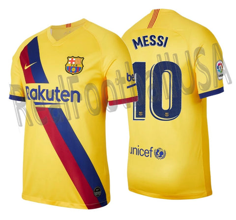 NIKE LIONEL MESSI FC BARCELONA AWAY JERSEY 2019/20