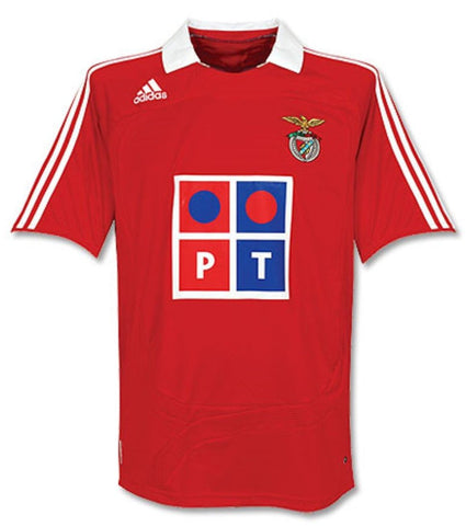 ADIDAS BENFICA HOME JERSEY 2007/08
