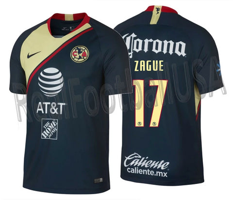 NIKE ZAGUE CLUB AMERICA AWAY JERSEY 2018/19.