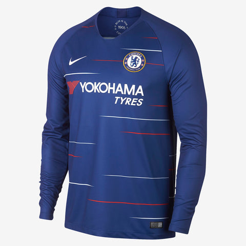 Nike Chelsea Long Sleeve Home Jersey 2018/19 AA8057-496