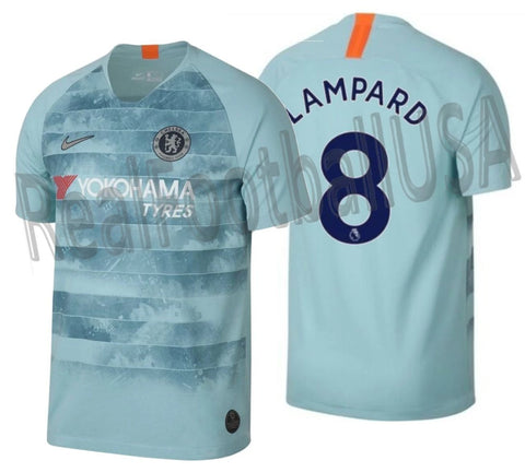 NIKE FRANK LAMPARD CHELSEA FC THIRD JERSEY 2018/19 1