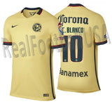 NIKE CUAHTEMOC BLANCO CLUB AMERICA AUTHENTIC MATCH HOME JERSEY 2015/16 1