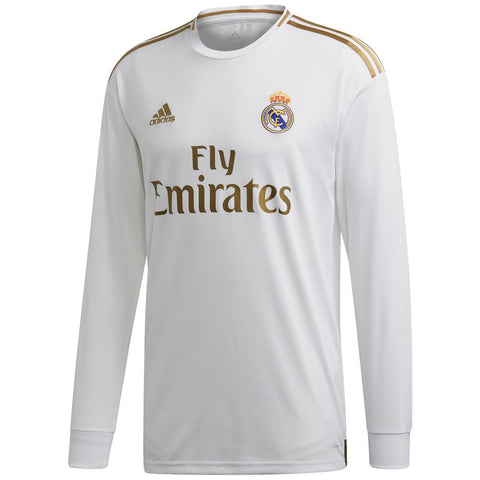 ADIDAS REAL MADRID LONG SLEEVE HOME JERSEY 2019/20.