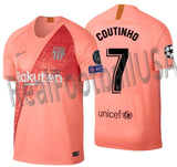 NIKE PHILIPPE COUTINHO FC BARCELONA UEFA CHAMPIONS LEAGUE THIRD JERSEY 2018/19 918989-694