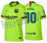 NIKE LIONEL MESSI FC BARCELONA AWAY YOUTH JERSEY 2018/19.