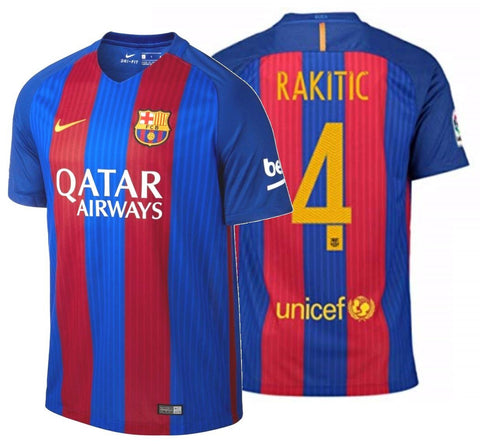 Nike Rakitic Barcelona Home Jersey 2016/17 776850-415