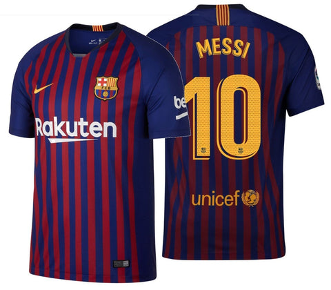 NIKE LIONEL MESSI FC BARCELONA HOME JERSEY 2018/19.