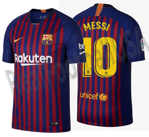 Nike Lionel Messi Barcelona Home Jersey 2018/19 894430-456