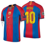 NIKE LIONEL MESSI FC BARCELONA VAPOR MATCH UEFA CHAMPIONS LEAGUE HOME JERSEY 1998/99