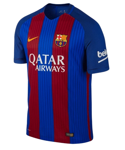 Nike Fc Barcelona Authentic Vapor Match Home Jersey 2016 17 Qatar Realfootballusa Net