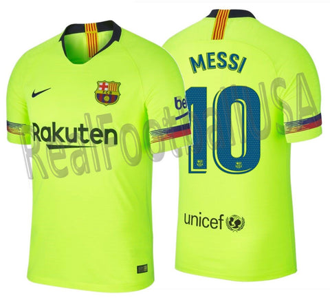 Nike Lionel Messi Barcelona Authentic Vapor Match Away Jersey 2018/19 918912-702