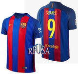 NIKE LUIS SUAREZ FC BARCELONA HOME YOUTH JERSEY 2016/17.