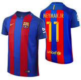 NIKE NEYMAR JR. FC BARCELONA HOME YOUTH JERSEY 2016/17.