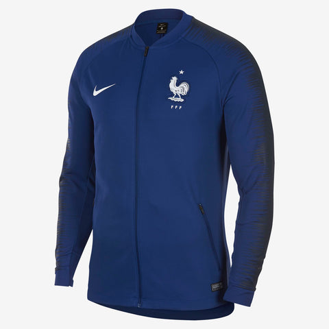 NIKE FRANCE ANTHEM JACKET FIFA WORLD CUP 2018 Deep Royal Blue/Obsidian.