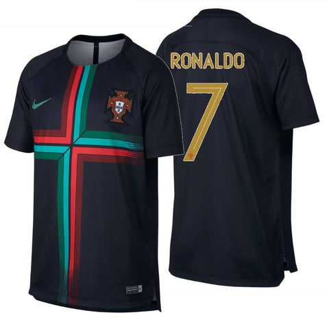 NIKE CRISTIANO RONALDO PORTUGAL YOUTH SQUAD TRAINING JERSEY FIFA WORLD CUP 2018 1