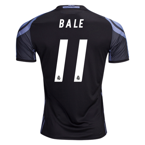 ADIDAS GARETH BALE REAL MADRID THIRD JERSEY 2016 17 CWC FIFA PATCH ... 1becff27c