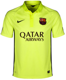 NIKE ANDRES INIESTA FC BARCELONA THIRD 3RD JERSEY 2014/15.