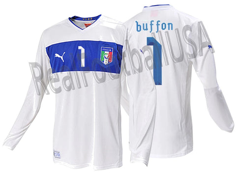 PUMA GIANLUIGI BUFFON ITALY LONG SLEEVE AWAY JERSEY EURO 2012 1