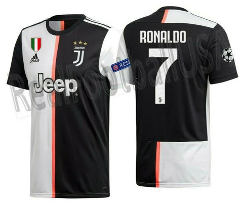 new style 5a473 05458 ADIDAS CRISTIANO RONALDO JUVENTUS UEFA CHAMPIONS LEAGUE HOME JERSEY 2019/20.