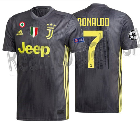 check out 0f79a 63038 ADIDAS CRISTIANO RONALDO JUVENTUS UEFA CHAMPIONS LEAGUE THIRD JERSEY  2018/19.
