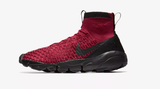 NIKE AIR FOOTSCAPE MAGISTA FLYKNIT FC SOCCER LEISURE SHOES Team Red/Black 4