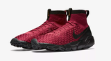 NIKE AIR FOOTSCAPE MAGISTA FLYKNIT FC SOCCER LEISURE SHOES Team Red/Black 1