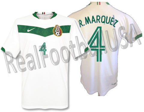 NIKE RAFAEL MARQUEZ MEXICO AWAY JERSEY FIFA WORLD CUP 2006